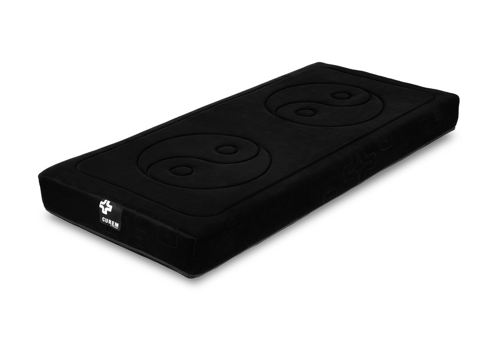 Penové Curem 1000 - matrace, čierny poťah (80x200)