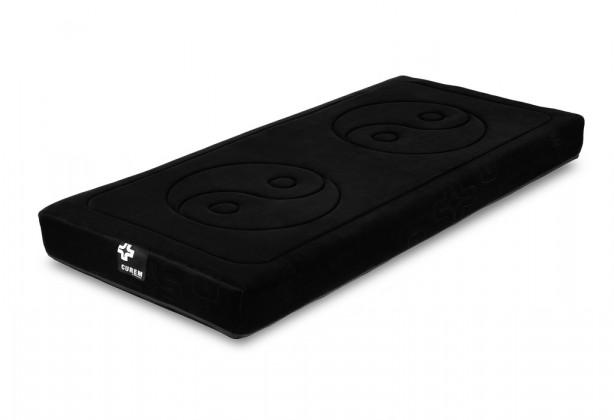 Penové Curem 1000 - matrace, čierny poťah (90x200)