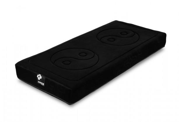 Penové Curem 2000 - matrace, čierny poťah (90x190)