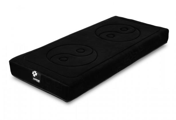 Penové Curem 2000 - matrace, čierny poťah (90x200)