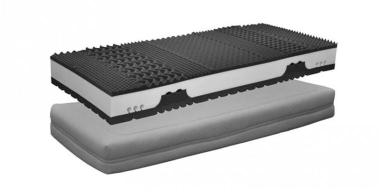 Penové matrace Matrac Gala Visco 2000 (80x200x25 cm)