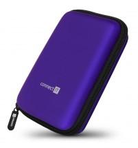 "Pevné ochranné púzdro na 2,5"" HDD Connect IT CFF5000BL, modré"