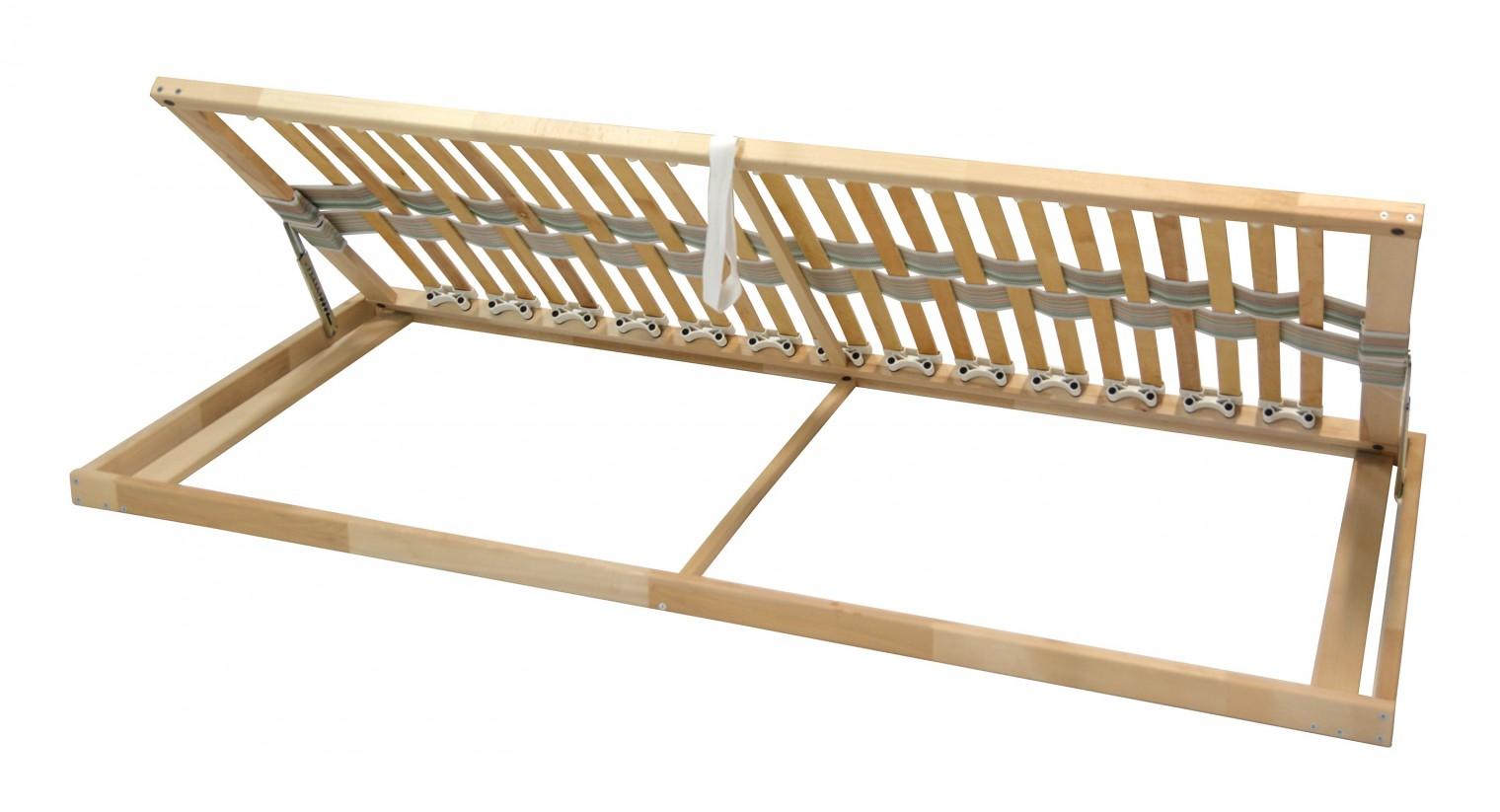 Pevné rošty Double klasik - Rošt, 80x200 cm, výklopný do boku