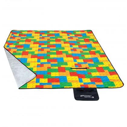 Picnic brics - Piknik deka (žltá, červená, modrá, zelená)