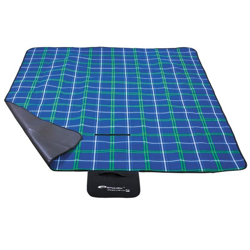 Picnic checkered - Piknik deka (modrá)