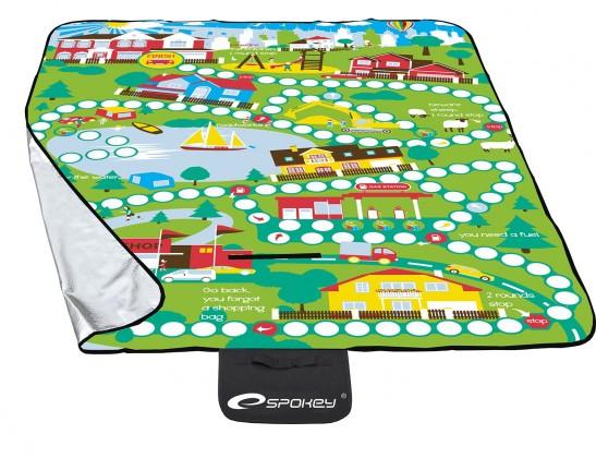 Picnic playboard - Piknik deka 130x170 (zelená, žltá)
