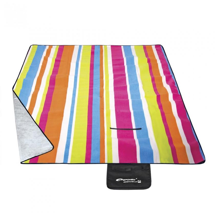 Picnic rainbow - Piknik deka (žltá, červená, modrá, lime)