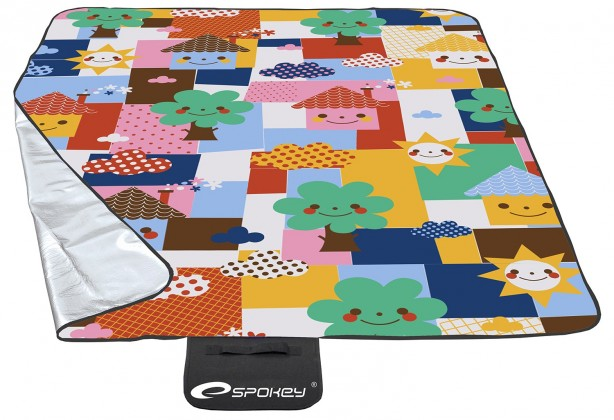 Picnic toddler - Piknik deka 130x170 (žltá, ružová, modrá)