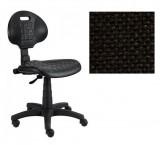 Piera - Dielenská stolička (antistatická, kĺb, čierna)