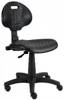 Piera - Dielenská stolička (kĺb, čierna)