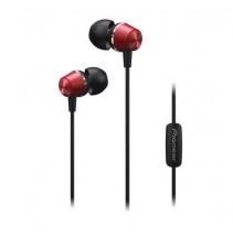 PIONEER SE-QL2T-R sluchátka / červená