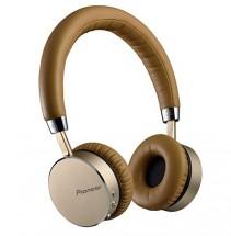 Pioneer sluchátka s BT hnědostříbrná SE-MJ561BT-T