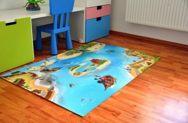 Pirátska bitka - Koberec 100x150cm