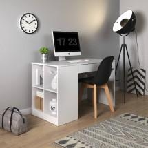 Písací stôl Boxo (biela)