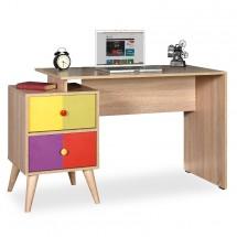 Písací stôl Zoli (dub sonoma)