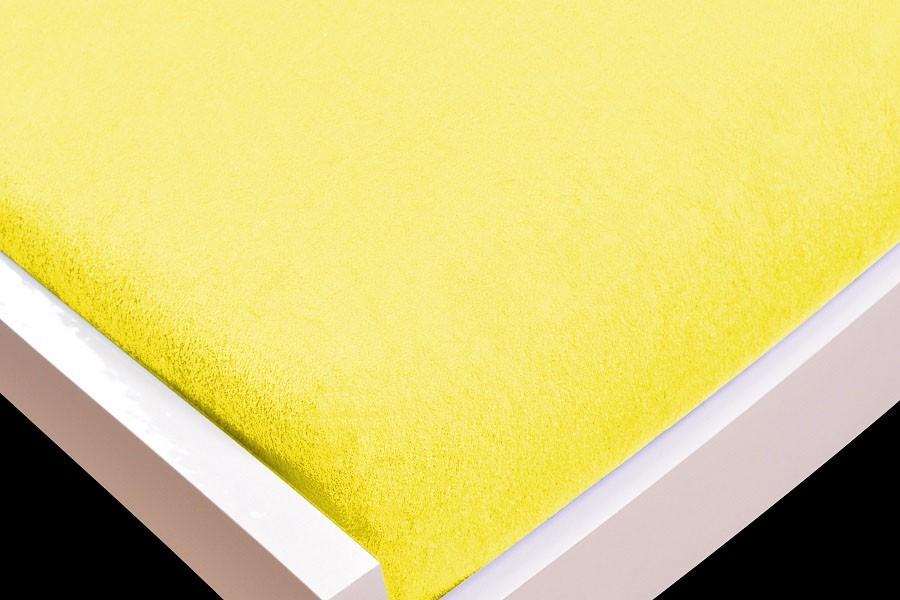 Plachta Froté, 140x200 (žlté)