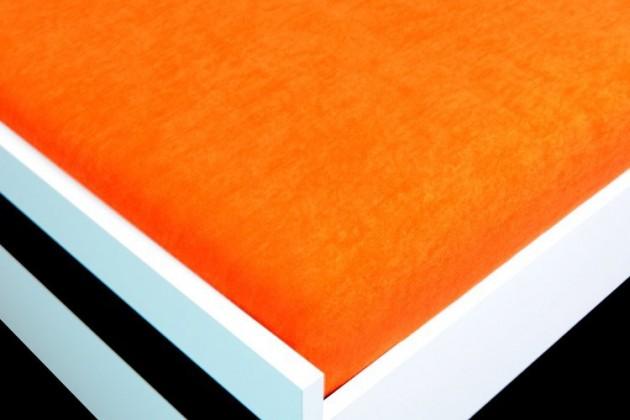 Plachta Froté, 180x200 (oranžové)