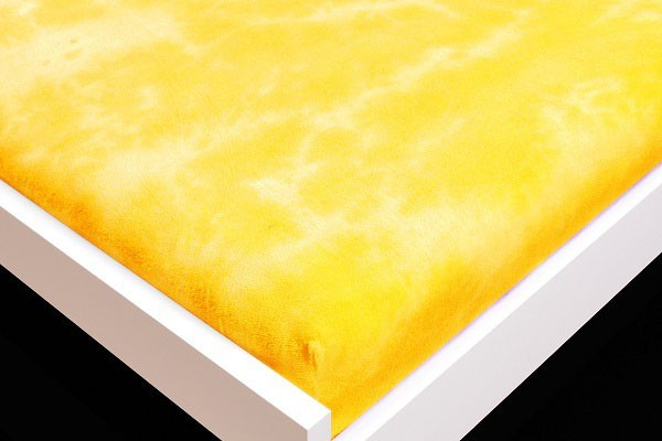 Plachta Froté, batikovania, 180x200 (žlté)