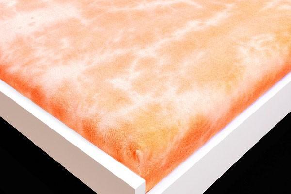 Plachta Froté, batikovania, 90x200 (oranžové)