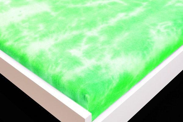 Plachta Froté, batikovania, 90x200 (zelené)