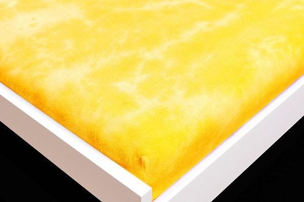 Plachta Froté, batikovania, 90x200 (žlté)