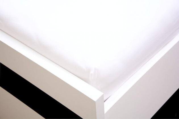 Plachta Jersey, 140x200 (biele)