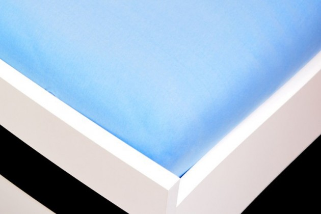 Plachta Jersey, 140x200 (svetlo modré)