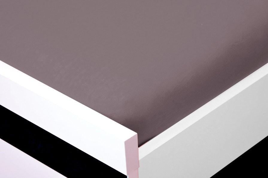 Plachta Jersey, 160x200 (sivé)