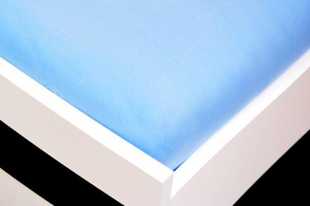 Plachta Jersey, 160x200 (svetlo modré)