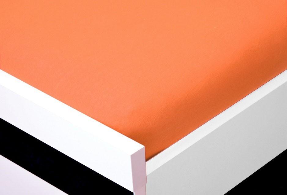 Plachta Jersey, 180x200 (oranžové)