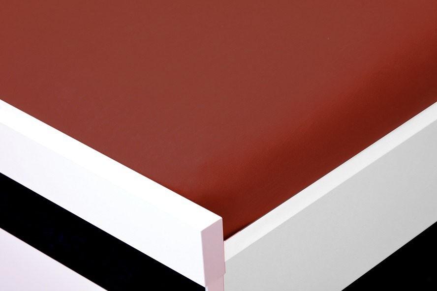 Plachta Jersey, 200x220 (červenohnedé)