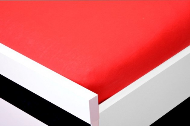Plachta Jersey, 90x200 (červené)