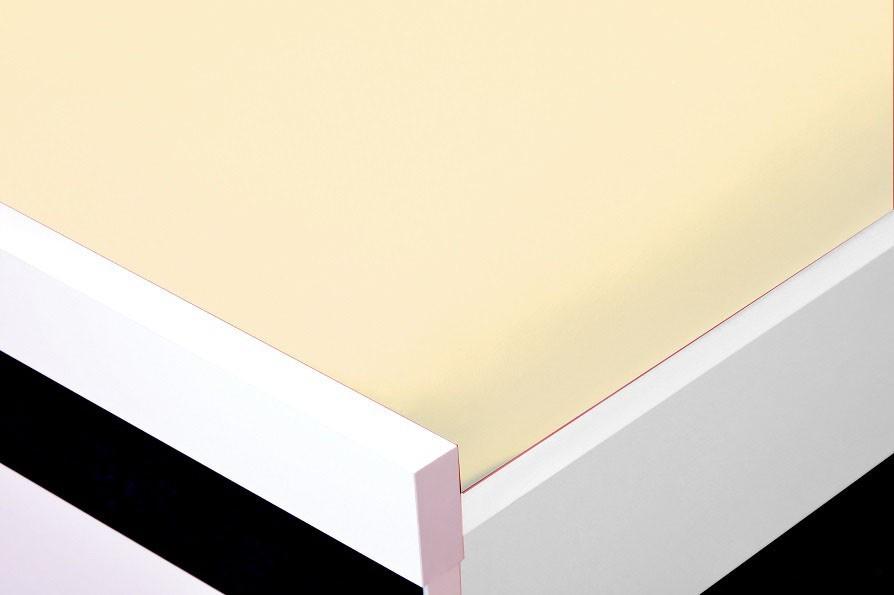 Plachta Jersey, 90x200 (krémové)