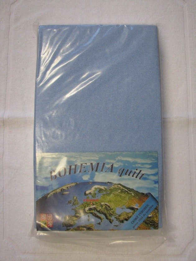 Plachta Jersey 90x200cm, modrá
