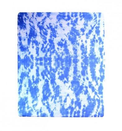 Plachta Jersey, batikovania, 180x200 (modré)