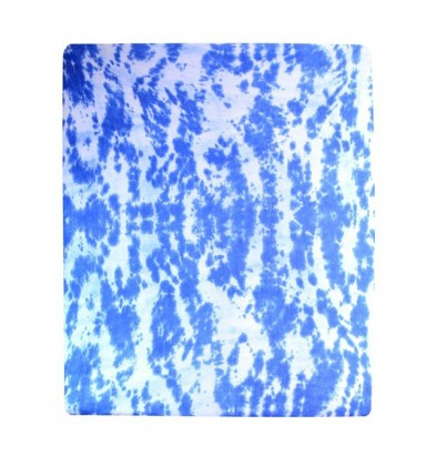 Plachta Jersey, batikovania, 90x200 (modré)