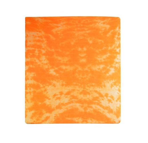 Plachta Jersey, batikovania, 90x200 (oranžové)