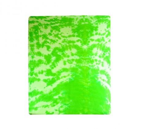 Plachta Jersey, batikovania, 90x200 (zelené)