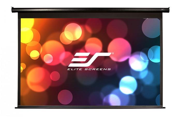 """Plátno Elite Screens elektrické motorové 125"""", 155,7 x 276,9 cm"""