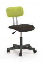 Play - detská stolička (čierno-zelená)