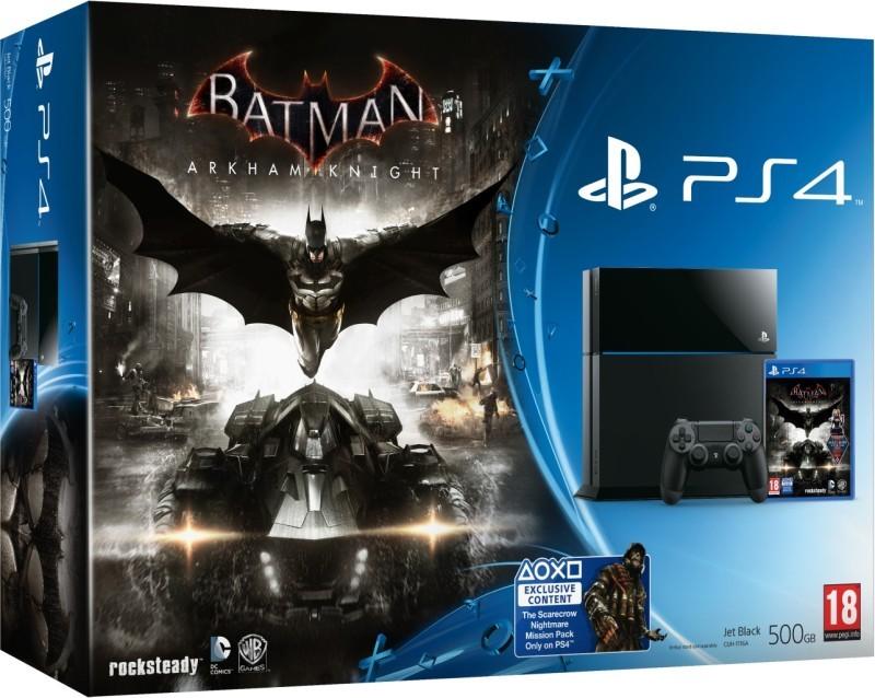 PlayStation 4 Batman Arkham Knight/PS4 500GB B/EXP