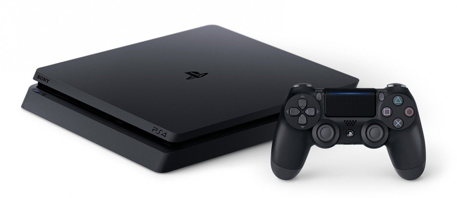 PlayStation 4 Herní konzole Sony PlayStation 4 SLIM 500GB černá (PS719407775)