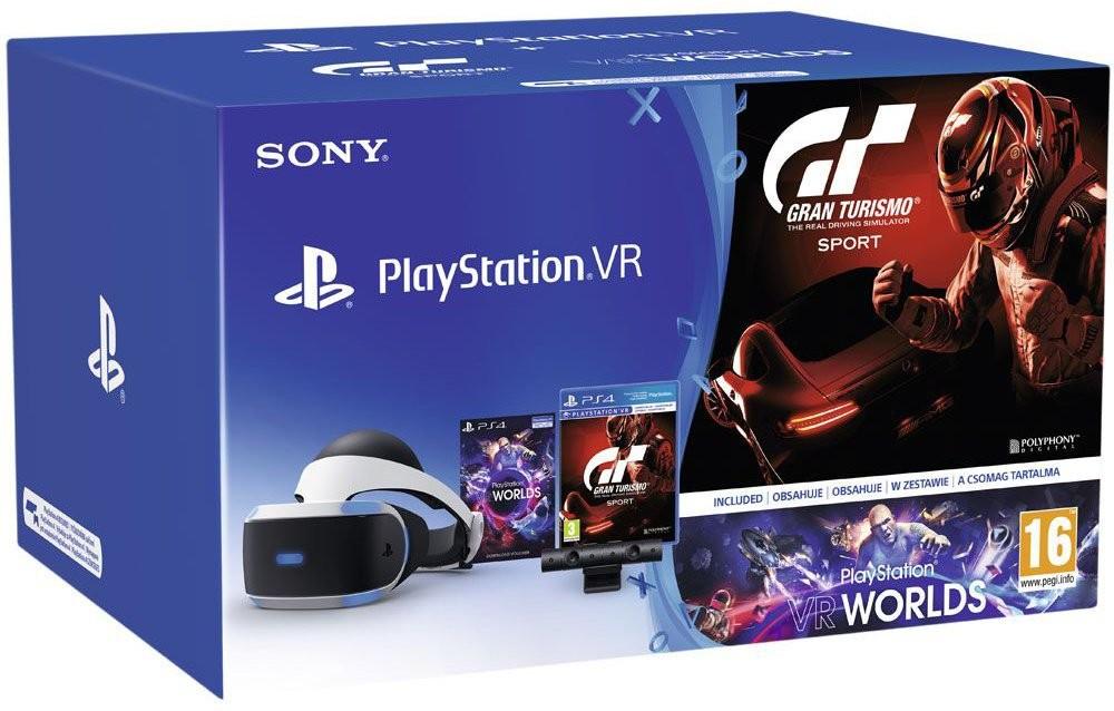PlayStation 4 PlayStation VR v2+Kamera+Gran Turismo Sport+Worlds PS719979661