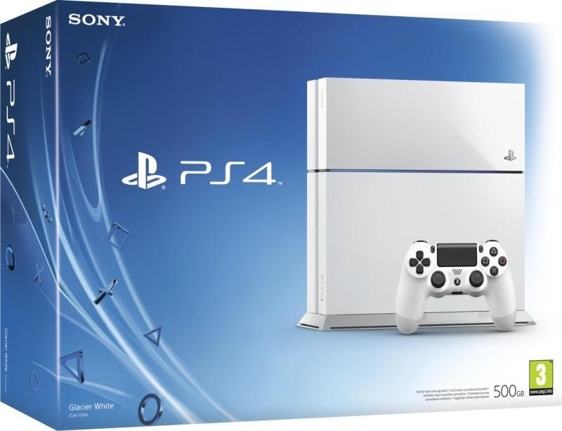 PlayStation 4 SONY PlayStation 4 - 500GB, biely