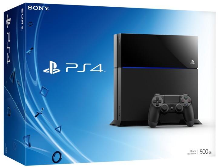 PlayStation 4 Sony PlayStation 4 - 500GB, čierny