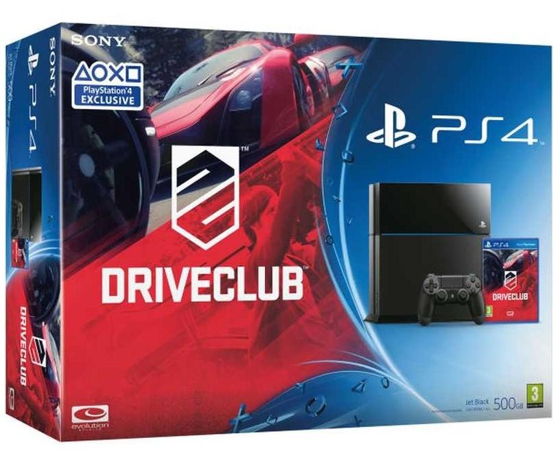 PlayStation 4 Sony PlayStation 4 500GB + DRIVECLUB
