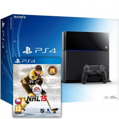 PlayStation 4 SONY PlayStation 4 - 500GB + NHL15