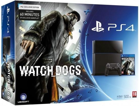 PlayStation 4 Sony PlayStation 4 - 500GB + Watch Dogs