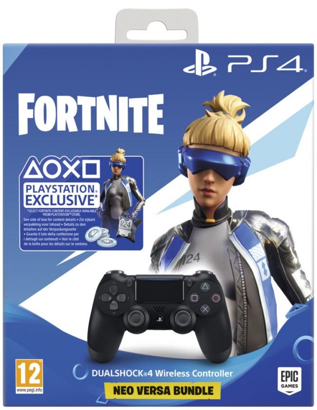 PlayStation 4 Sony PlayStation 4 Dualshock V2 + Fortnite 2000 V Bucks