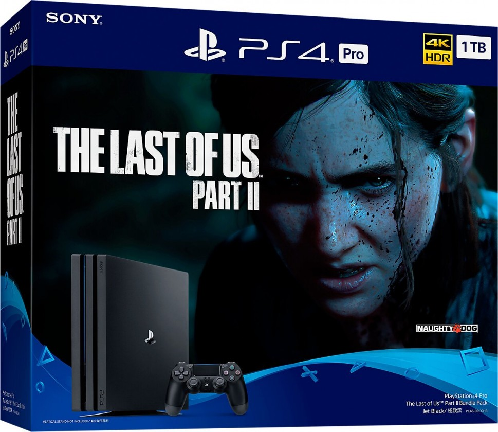 PlayStation 4 SONY PS 4 Pro 1TB GAMMA/EAS - čierny + TLOU II